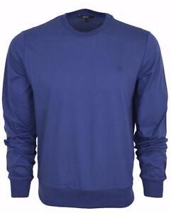03fcc11e26a New Gucci 251625 Men s BLUE Cotton Interlocking GG Logo Shirt XXL ...