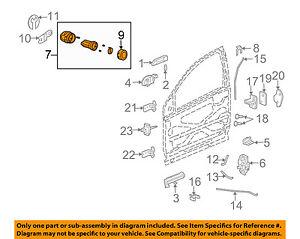 saturn gm oem 03 07 ion door lock cylinder 15785083 ebay Oldsmobile Parts Diagram image is loading saturn gm oem 03 07 ion door lock