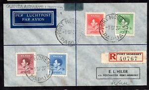 Papua-1937-Registered-Airmail-Postal-History-Cover-on-Guinea-Airways-WS15025