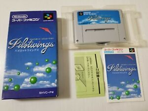 Nintendo Super Famicom Pilotwings Japan 0329A27
