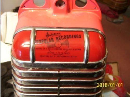solotone jukebox wallbox reproduction red lens