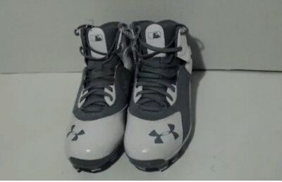 15bde33880a6 New Under Armour Spine Heater Mid TPU Men's Baseball Cleats 1250050-021 Size  10
