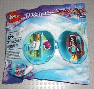LEGO-5004920-Emma-Ski-Pod-Friends-Skier-Winter-Schnee-Snow-Maedchen-Polybag