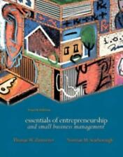 Essentials of Entrepreneurship and Small Business Management by Thomas W....
