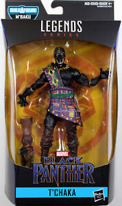Marvel-Legends-T-039-CHAKA-BLACK-PANTHER-ACTION-FIGURE-Black-Panther-Series-2