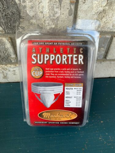 YOUTH ATHLETIC SUPPORTER AND PROTECTIVE CONTOURED CUP LARGE