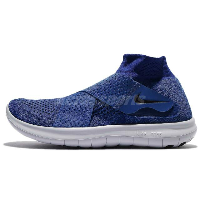 outlet store f3164 a7885 Nike Free RN Motion FK 2017 Flyknit Binary Blue Men Running Shoes 880845-401