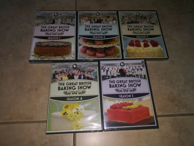 The Great British Baking Show Series Complete All 1-5 ...
