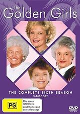 THE GOLDEN GIRLS : COMPLETE SEASON 6 english cover  -  DVD - UK Compatible