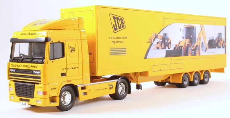 1 50 DAF XF JCB Exhibition Unit 1 50 • CORGI CC13237
