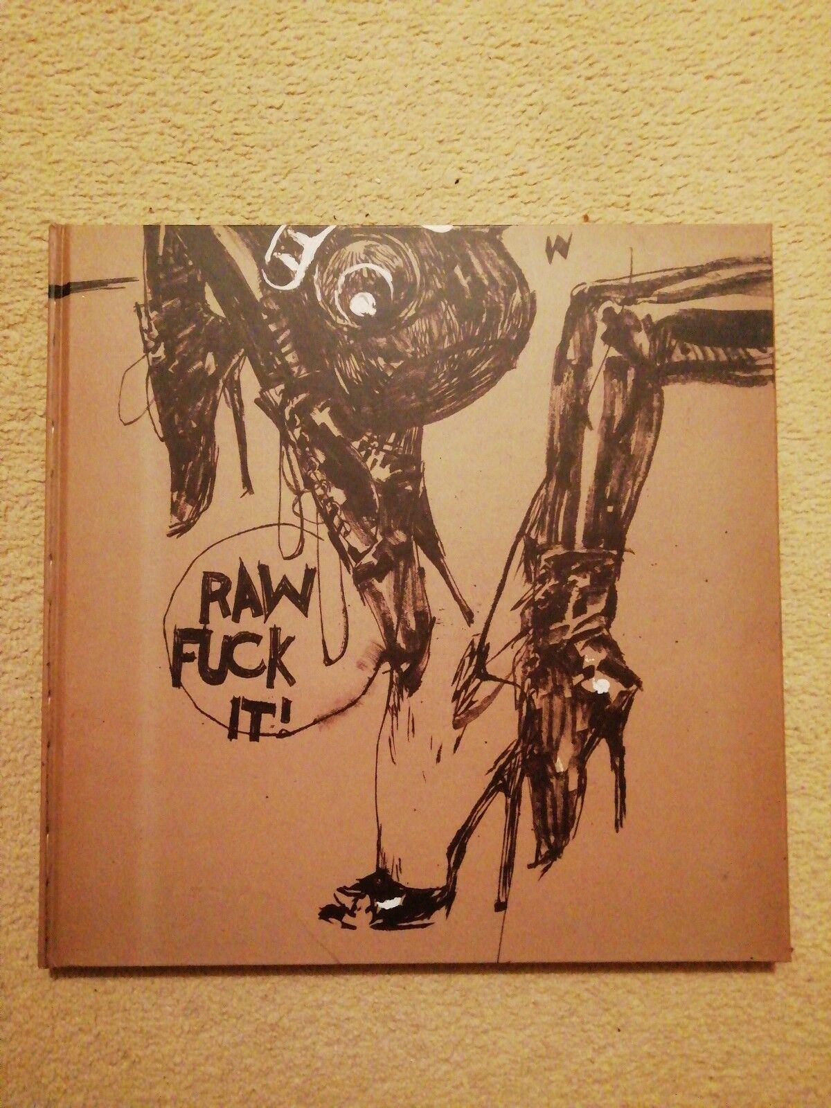 Raw FCUK il Ashley Wood Art Book 3 A ThreeA ThreeZero IDW très rare sold out