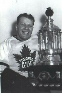 Turk Broda Toronto Maple Leafs 8x10 Photo