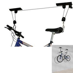 PORTABICI DA MURO PORTA BICICLETTA SUPPORTO A MURO Bike Lift MAX 23KG