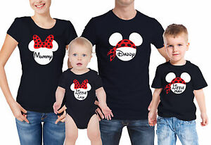 0ddc7364f Daddy mouse, Mummy mouse child t-shirts and baby grow family t ...