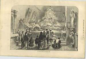 1873 An Italian Church At Christmas Time - Jarrow, United Kingdom - If for any reason you are not satisfied with your item, do let us know. If you wish to return it, you may, within 7 days, and we will issue you with a full refund. Most purchases from business sellers are protected by the Consumer - Jarrow, United Kingdom
