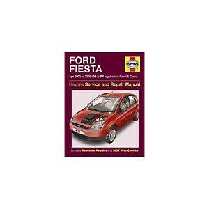 genuine haynes owners manual ford fiesta petrol diesel apr 02 rh ebay co uk service manual ford fiesta 2007 owner manual ford fiesta
