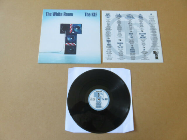 THE KLF The White Room KLF COMMUNICATIONS 1991 UK 1ST PRESS VINYL LP JAMSLP006
