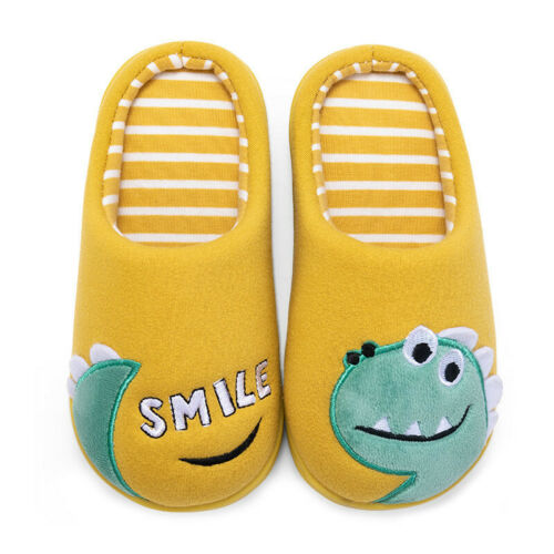 Toddler Baby Boys Girls Little Kids Shoes Winter Warm Animal Home Slippers 2-12T