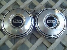 Vintage Ford Galaxie Fairlane Ltd Police Fomoco Hubcaps Wheel Covers Center Caps