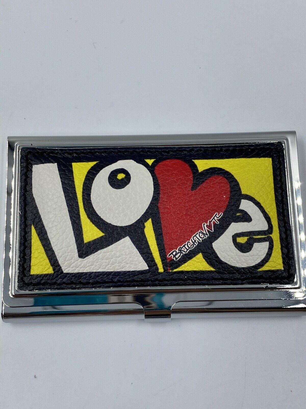Brighton CRAZY LOVE Business Card Case NWT E5279M