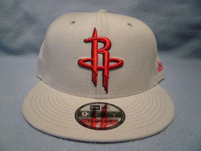 Houston ROCKETS Snap back Snapback 9Fifty New Era 950 CAP Hat OSFA RED black
