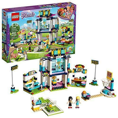 Lego Friends Stephanies Sports Arena Toy For Girls Building Set Mini Figure