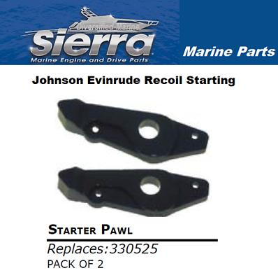 Starter Pawl  Jonson//Evinrude 3-35HP 1985-1999 0330525