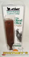Woodhaven Custom Calls The Real Hen Box Call (poplar)-who46