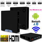 Mini PC Computer Win10 + Andriod Dual OS Quad Core 64Bit WiFi BT4.0 2GB+32GB