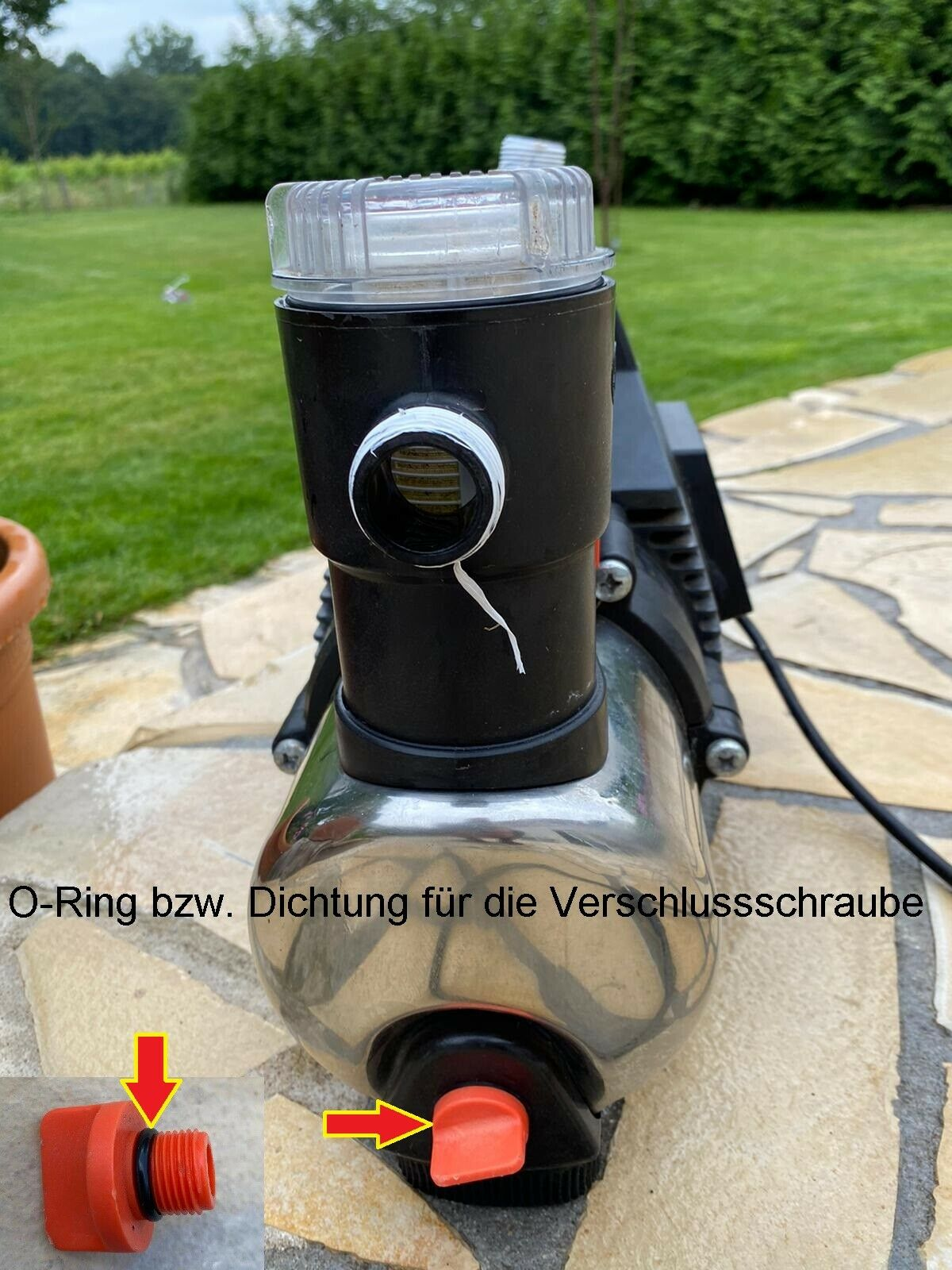 5000 O-Ringe Dichtung für Gardena Pumpe Hauswasserautomat 4000 6000 Series