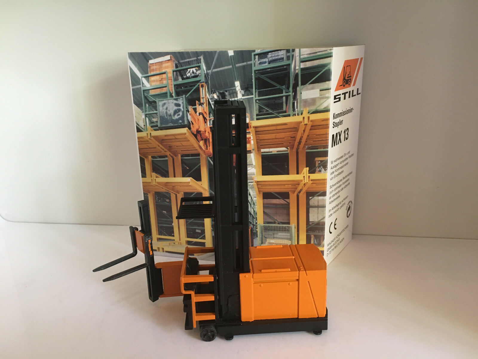 Still MX 13 Gabelstapler von NZG 3281 1 35 OVP  | Qualitätsprodukte