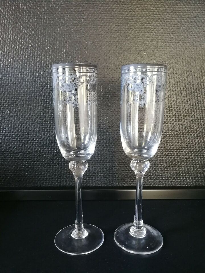 Glas, Champagneglas