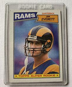 1987 Topps Jim Everett Rookie Card #145