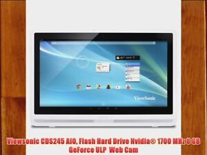 Details about Viewsonic CDS245 AIO Flash Hard Drive Digital Signage display  GeForce WebCam HD