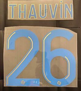 THIRD 2019//2020 MARSEILLE NAME SET FLOCAGE OFFICIEL THAUVIN OM