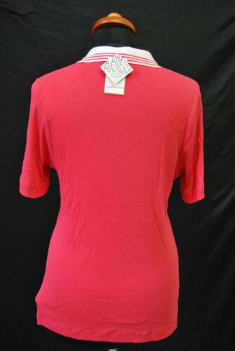 Shirt Mv Funktion Rippen 119 Polo Valois Marie Stretch Rot D Xxl Neu Gr 1463 UqqEvr