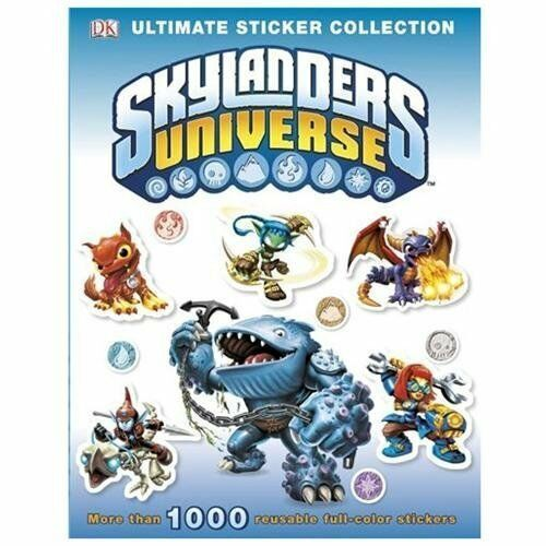 Ultimate Sticker Collections Skylanders Universe By Dorling
