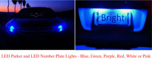 Number plate Light for Subaru Impreza WRX Forester Liberty Outback LED Parker
