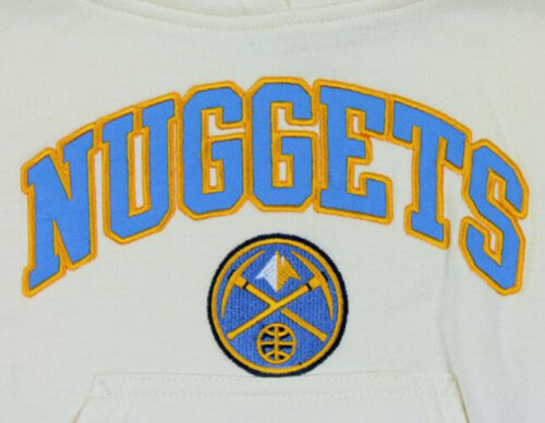 Cream Outerstuff NBA Youth Girls Denver Nuggets Pullover Hoodie