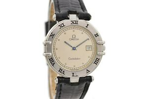 Vintage-Omega-Constellation-Cal-1379-Quartz-Stainless-Steel-Midsize-Watch-1777