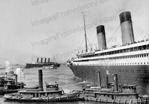 8x10-Print-RMS-Mauretania-RMS-Lusitania-Cunard-Line-Cruise-Ships-RMMO