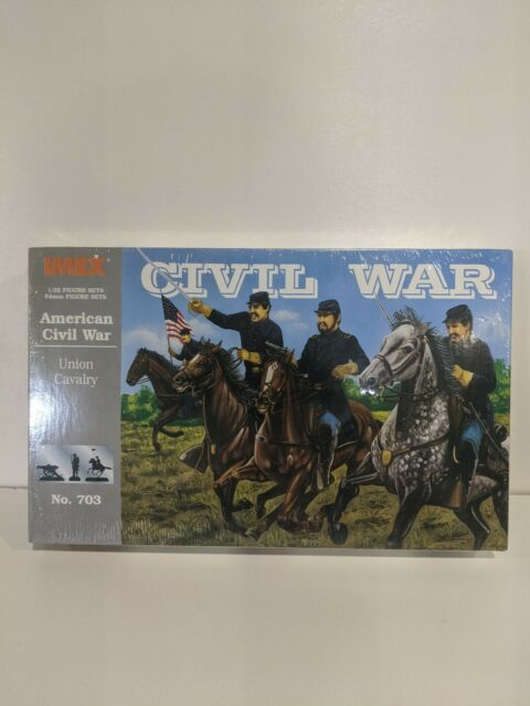 IMEX American Civil War Union Cavalry Set #703 1/32 Sealed Box