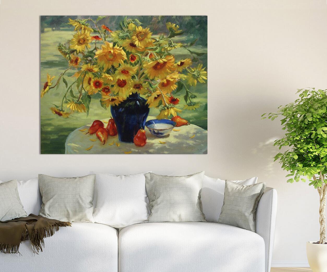 3D Schüchtern SonnenBlaume 8453  Fototapeten Wandbild BildTapete AJSTORE DE Lemon