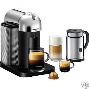 Amps Of Coffee Maker : Nespresso VertuoLine Coffee & Espresso Maker w/ Aeroccino+ Milk Frother, Chrome eBay