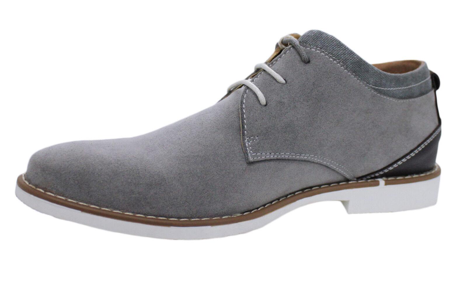 DESERT BOOTS HOMME grey EN DAIM CASUAL shoes MAN'S de 40 a 45