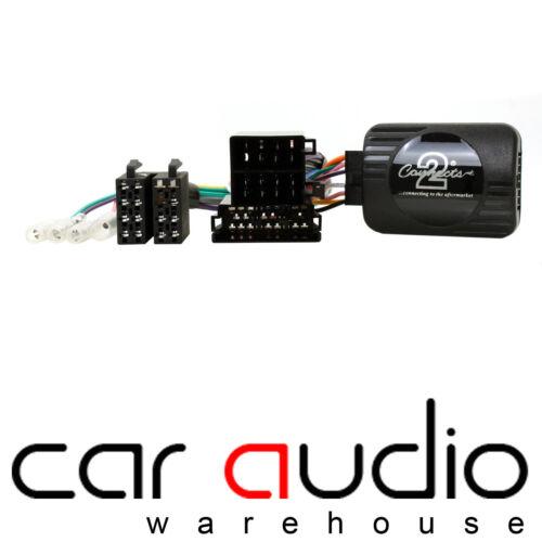 Fiat Qubo 2007 en Kenwood auto estéreo RADIO interfaz de volante control