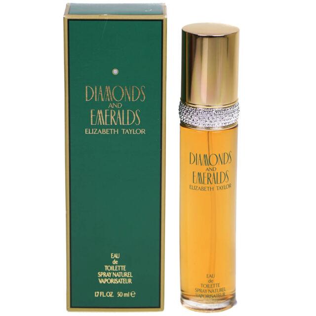Elizabeth Taylor Diamonds and Emeralds 50ml EDT Eau De Toilette Fragrance Spray