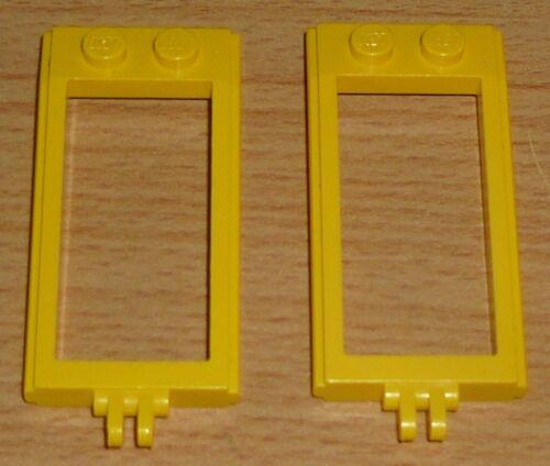 alte Version Lego Ritter 2 Kutschenanhänger in gelb