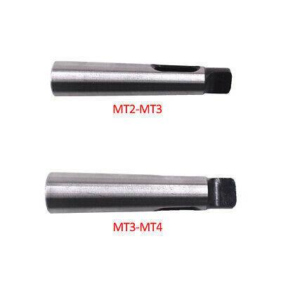 MT2 to MT3 Taper Morse Adapter Silver Arbor Reduce Sleeve Lathe Strong