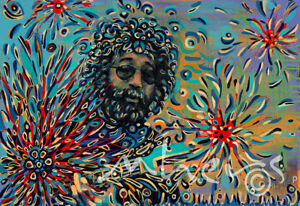 Jerry-Garcia-Grateful-Dead-singer-oil-on-canvas-from-artist-Image-picture